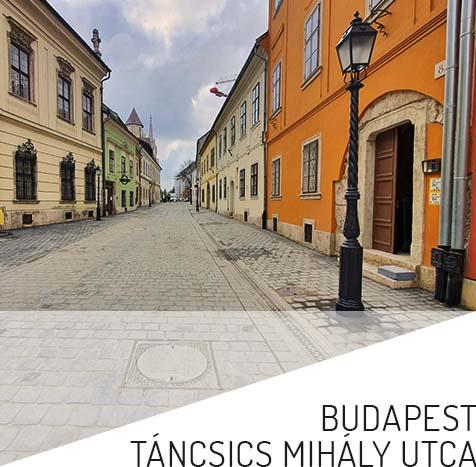 Budapest Táncsics Mihály utcaitem